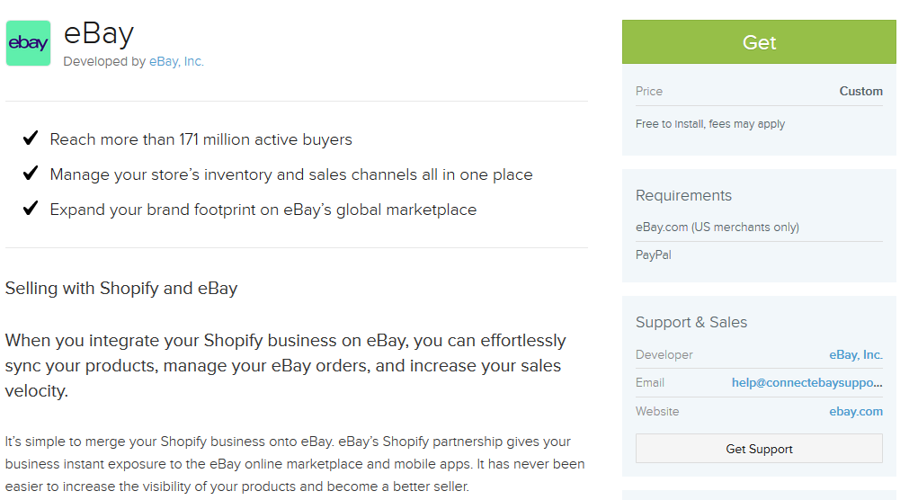 Quick Start to Selling on eBay from Shopify – eBay Connect Support